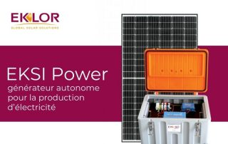 générateur autonome pour la production d'électricité