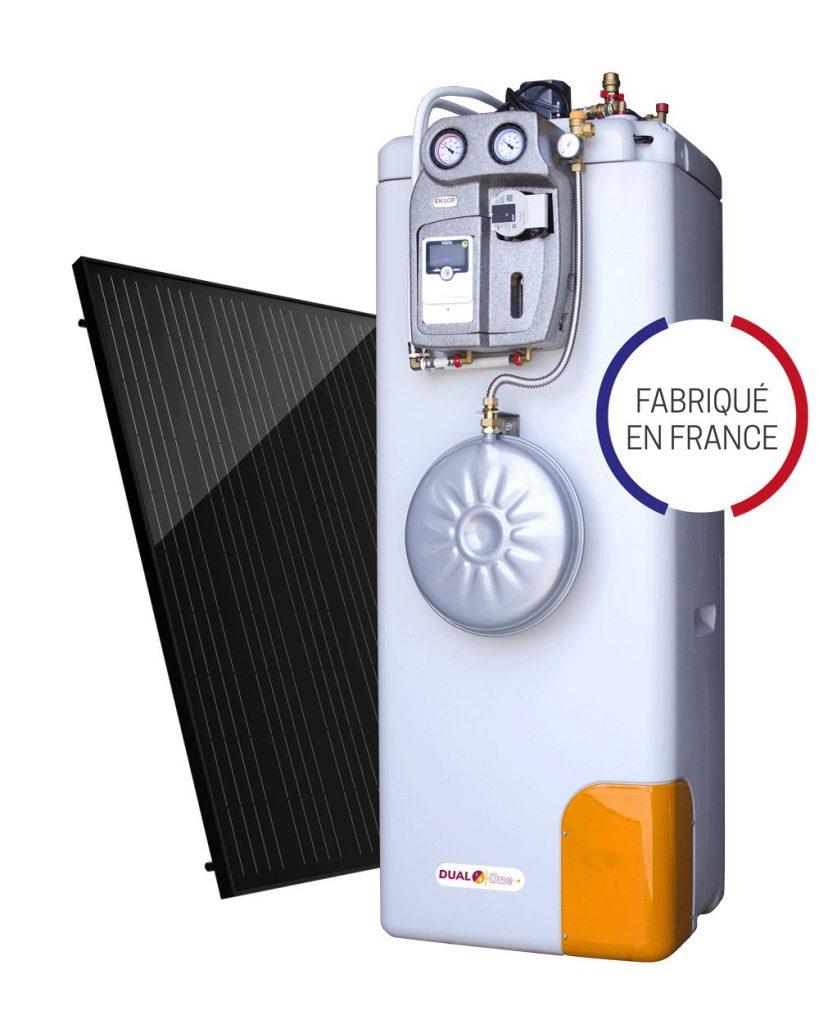 dual sun chauffe eau solaire individuel hybride