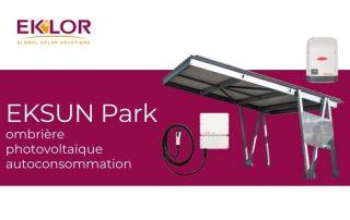 Ombrière photovoltaïque autoconsommation