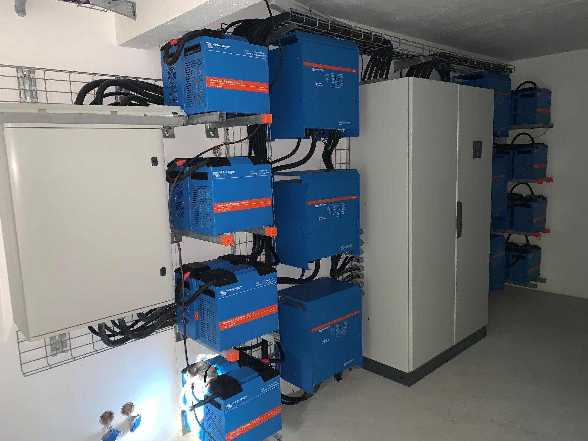 Electricité pour site isolé