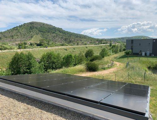En Ardèche, des serveurs informatiques plus respectueux de l'environnement avec l'énergie solaire