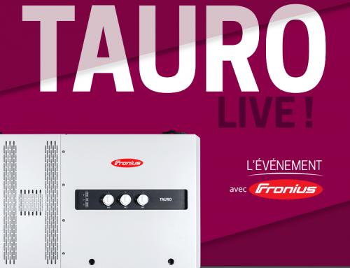 TAURO Live ! Assistez à l'événement de lancement du nouvel onduleur commercial de Fronius